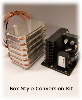 We offer several options for converting an existing icebox into a refrigerator or replacing an existing Conversion Kit. For some people Cold Plate Systems ... & Ice Box Conversion Kits - Custom marine and boat refrigeration Aboutintivar.Com